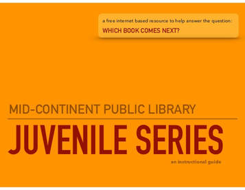 Mid Content public library juvenile series icon link